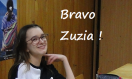 Zuzia`s success.