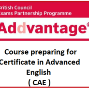 Course preparing for CAE exam
