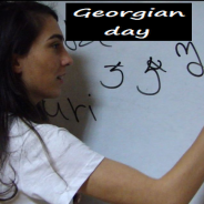 Georgian day in Kaspa